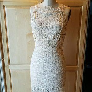 Vintage 30's lace gown & jacket